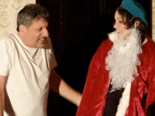 Image of *Oy Oy Oy, Merry Christmas!* in production by Unity Stage Company.