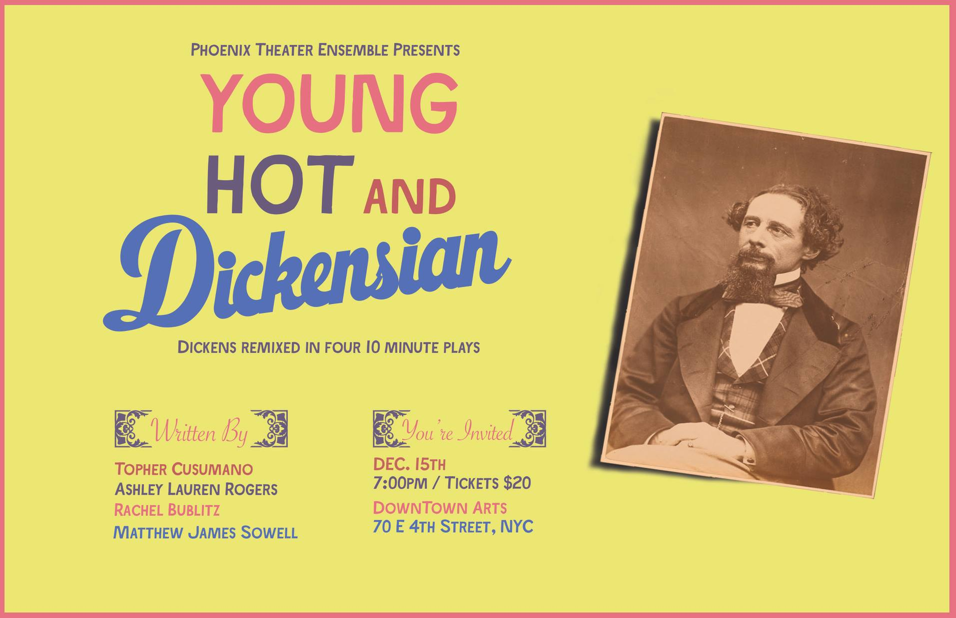 Poster for Young, Hot, & Dickensian.